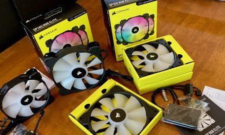 Corsair SP120 and SP140 RGB Elite PWM Fans