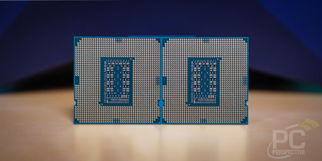 Intel Core i9-11900K i5-11600K Back