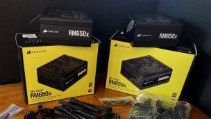 Corsair RMx Series 650 & 850 Power Supply Reviews
