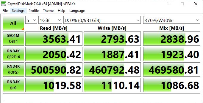 Samsung 980 1TB Gen3 NVMe SSD Review - Storage 18