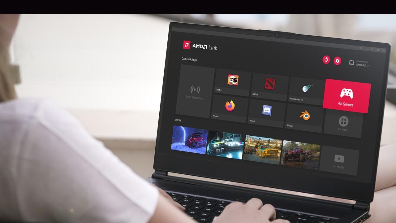 AMD Link Screenshot