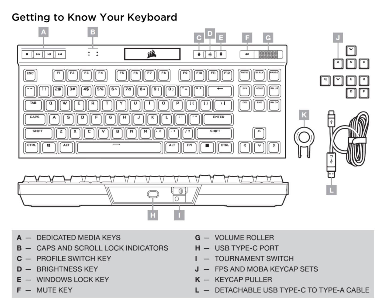 Corsair K70 RGB TKL Keyboard & Sabre RGB Pro Mouse Review - General Tech 27