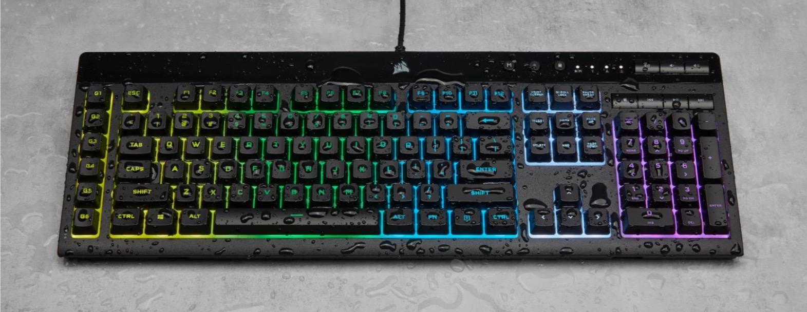 Corsair K55 RGB Pro XT Keyboard Review - General Tech 15