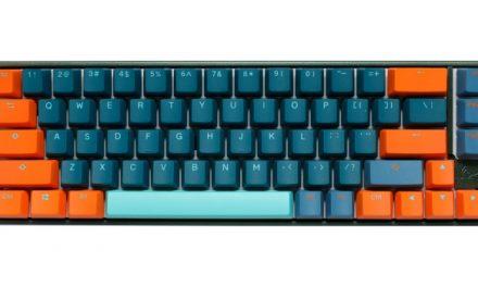 Ooooo, Shiny!  The Ducky Mecha SF Radiant Keyboard