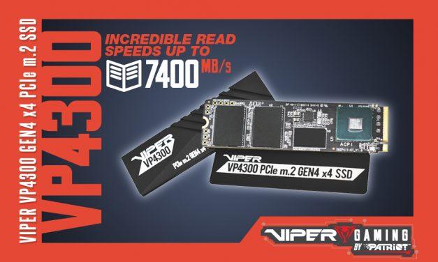 Viper Strikes with High Speed Gen4 SSD Storage