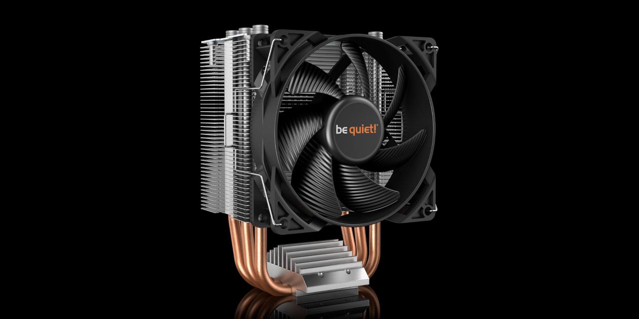 be quiet! Pure Rock Slim 2 CPU Air Cooler Review