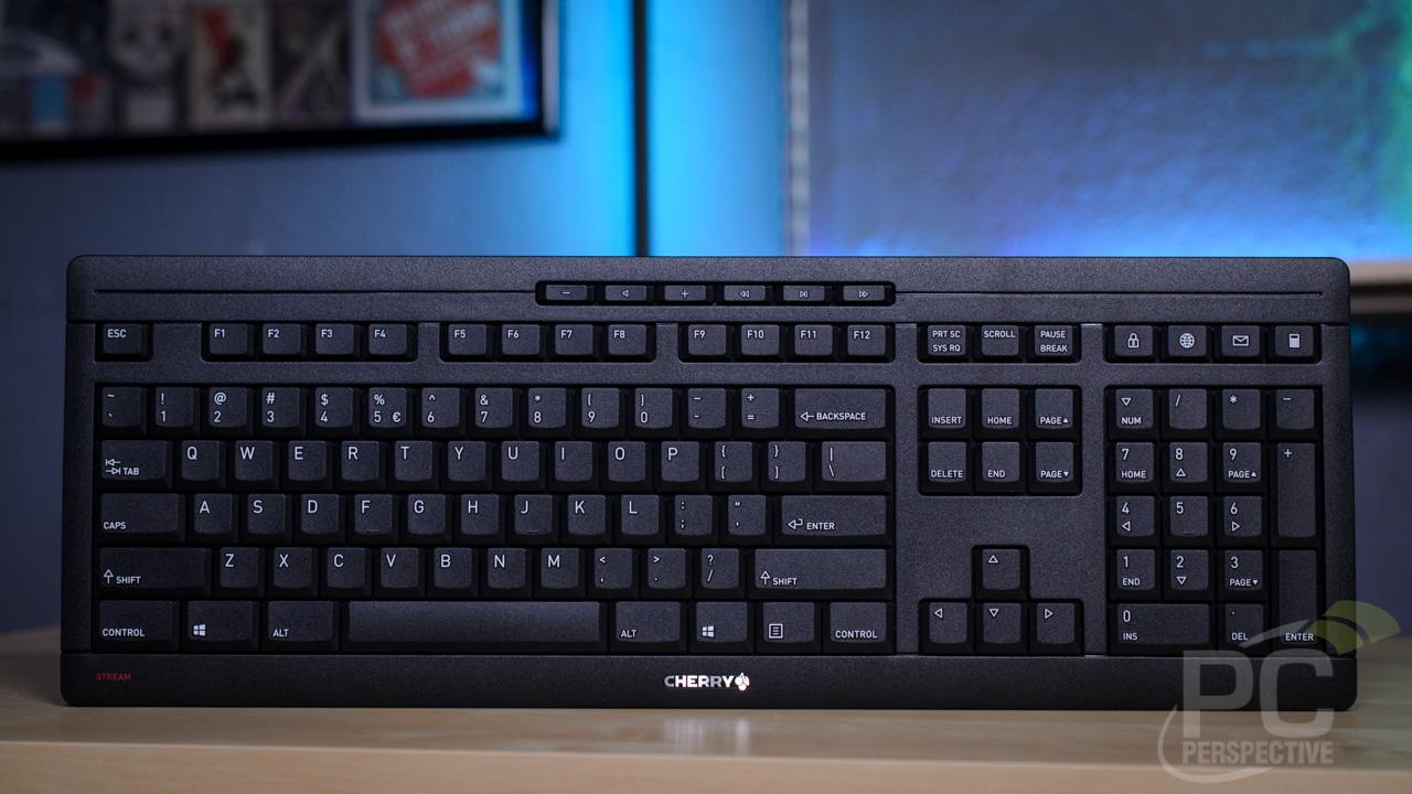 Cherry Stream Desktop Keyboard Front