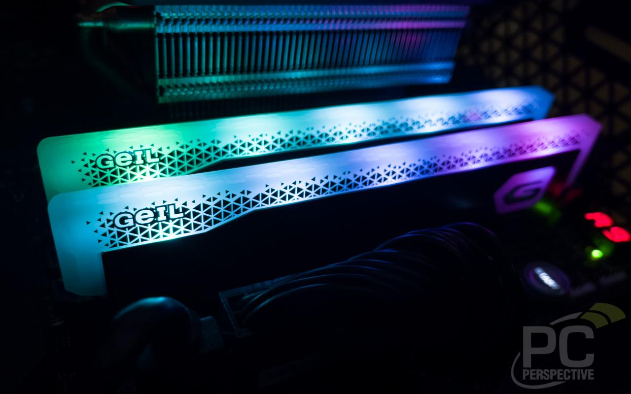 GeIL ORION RGB DDR4 4400 RAM Lighting