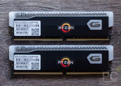 GeIL ORION RGB DDR4 4400 RAM Back