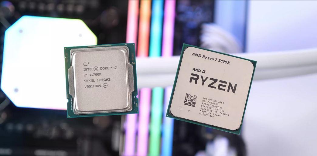 $400 Gaming Showdown; Ryzen 7 5800X And The Core i7-11700K