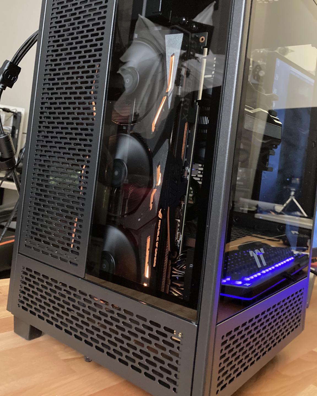 Spinning GPU Fans
