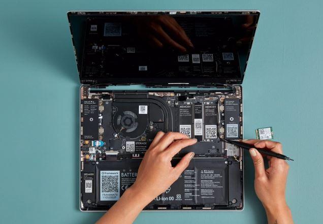 Framework's Modular And Upgradeable Whitebox Laptop