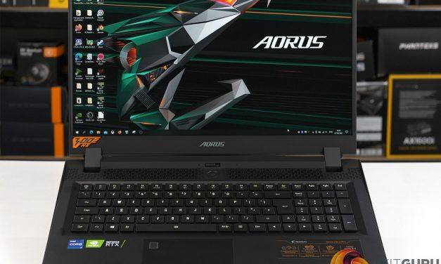 Gigabyte Aorus 17G, Serious Mobile Gaming Power