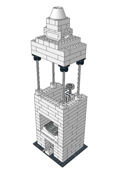 A Truly DIY Lego Microscope