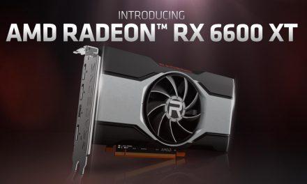 AMD Announces Radeon RX 6600 XT Graphics Card
