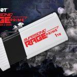 Patriot Supersonic Rage Prime Time USB 3.2 Gen 2 Storage!