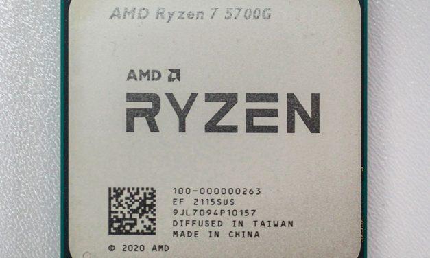 AMD's Ryzen 7 5700G APU Finally Arrives
