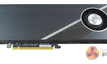 The Gigabyte AORUS RAID SSD PCIe 3.0 Card