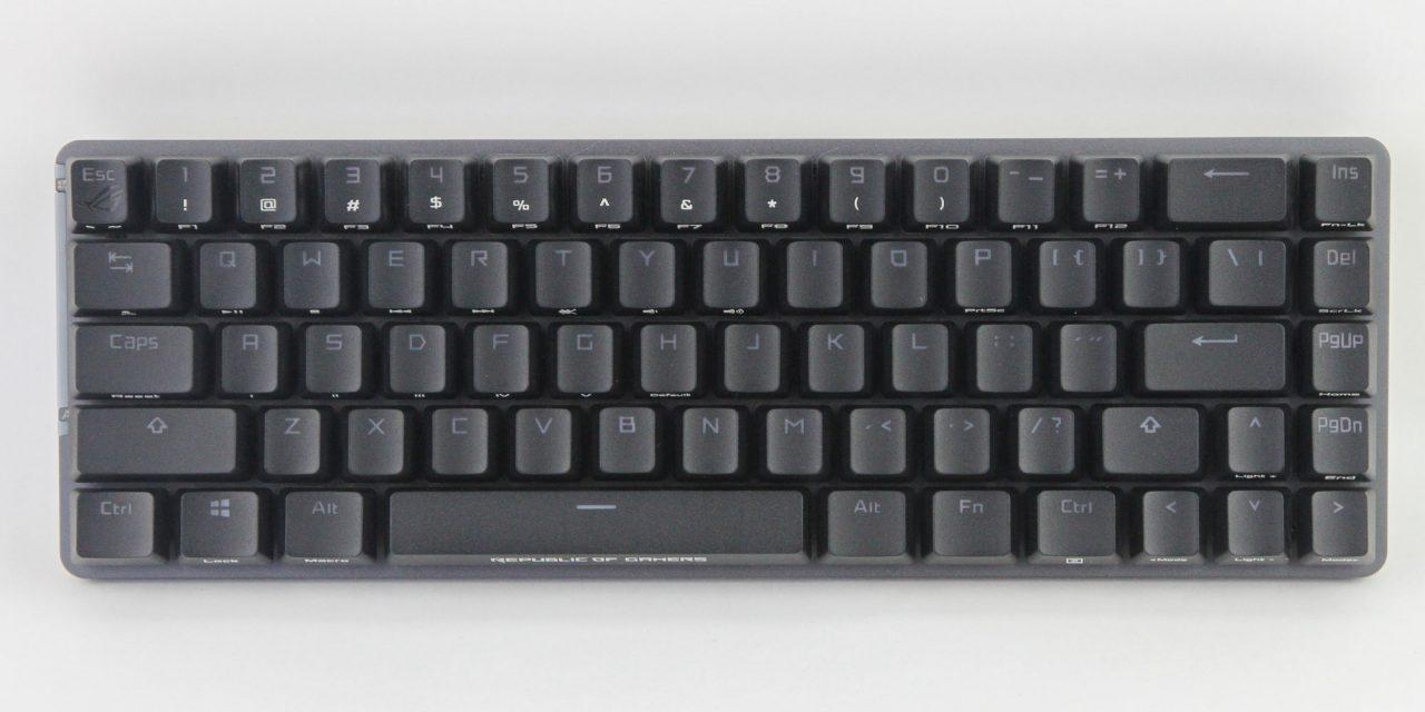 ASUS ROG Falchion, A 65% Keyboard?