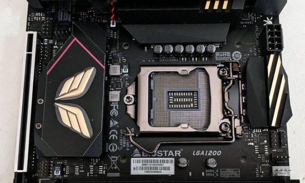 BIOSTAR's Mini-ITX Z590I VALKYRIE