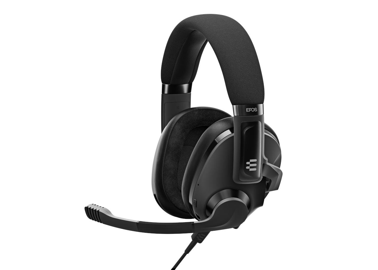 EPOS H3 Hybrid Black 3D View