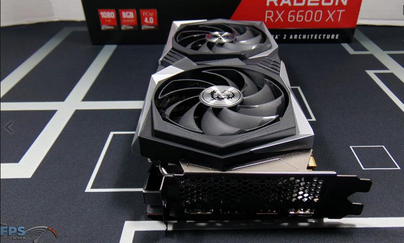 The MSI Radeon RX 6600 XT GAMING X 8G Is Overclocker Friendly