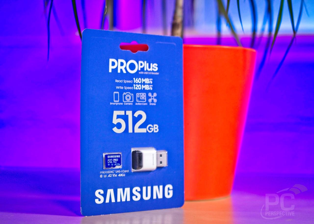 Samsung PRO Plus 512GB microSD Card Review - Storage 9