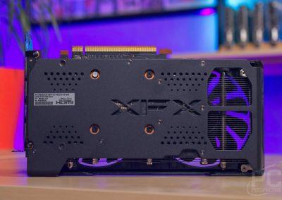 AMD Radeon RX 6600 XFX SWFT 210 Back
