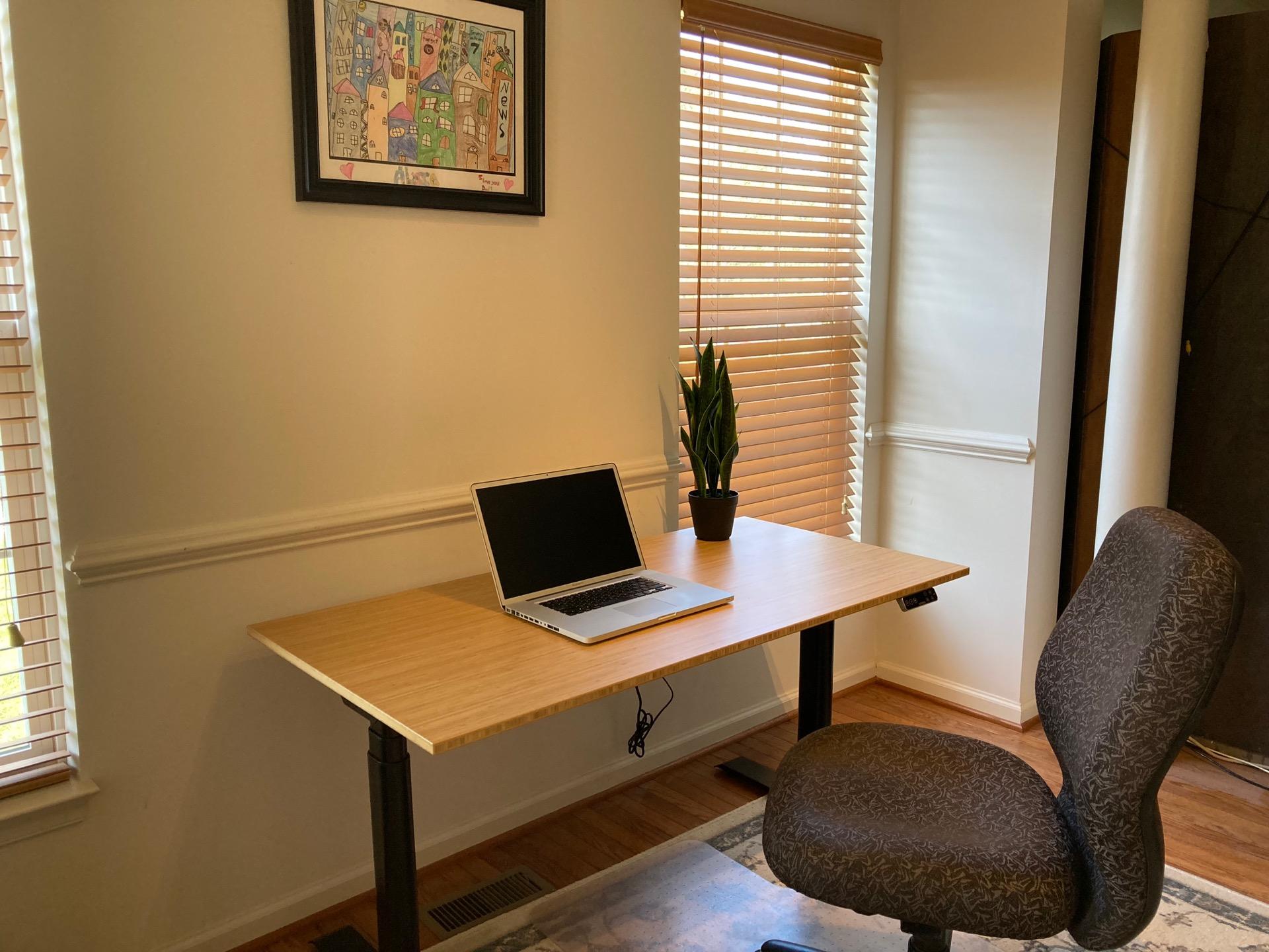 Flexispot Kana Pro Bamboo Adjustable Standing Desk Review - General Tech 29