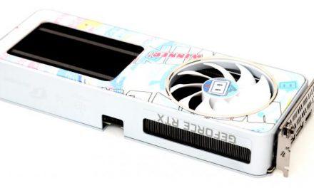 Colorful GeForce RTX 3060 Bilibili 12G, The Cutest CUDA